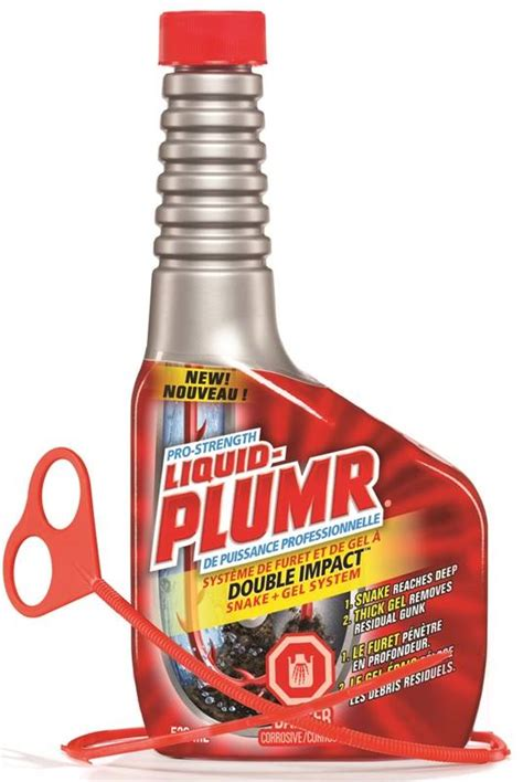 liquid plumr bathtub liquid plumr double impact pro strength 01349 drain opener