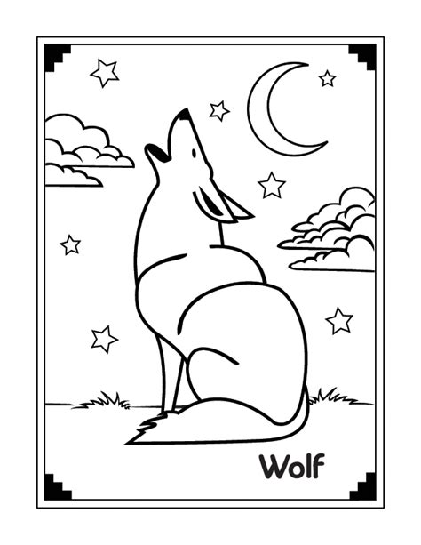 coloring pages of cute wolves cute wolf coloring pages wolf coloring pages free