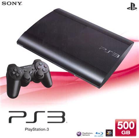 Sony Playstation 3 Ps3 Ps 3 Hdd 500gb Stik Wirel あみあみ キャラクター ホビー通販 ps3 本体 500gb チャコール ブラック