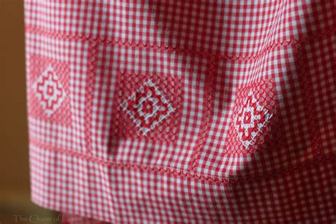 gingham pattern history the charm of home chicken scratch embroidery