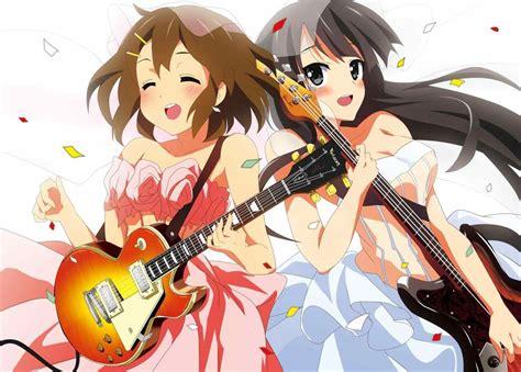 anime here music girl guitar anime www pixshark com images