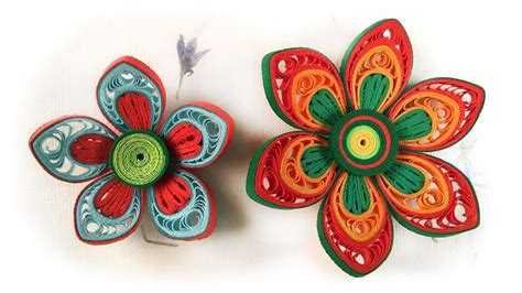 tutorial quilling en vidéo quilling flowers tutorial how to make paper flower