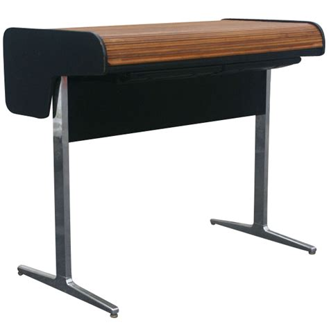 herman miller office desk herman miller george nelson office roll up desk