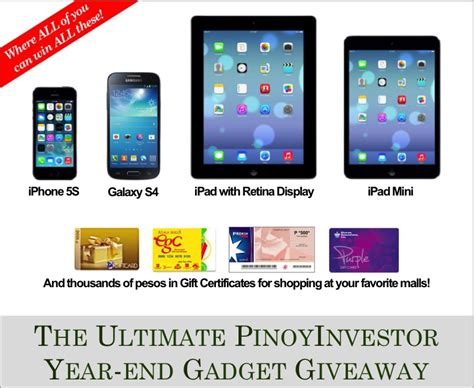 Iphone 5s Free Giveaway - pinoyinvestor s free iphone ipad gadgets giveaway pinoymoneytalk com