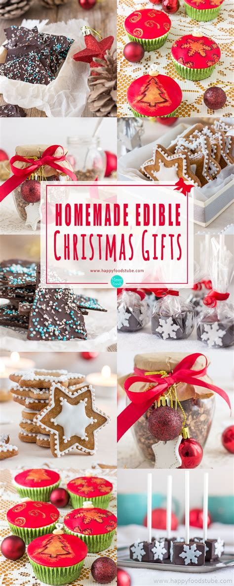 homemade edible christmas gifts happy foods tube