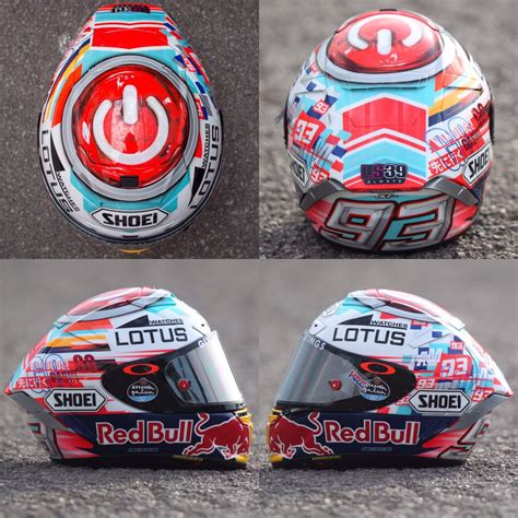 Helm Mm93 X14 By Lovelyn Motogp by This New Edition Of Catalunya Marc Marquez Helmet Motogp