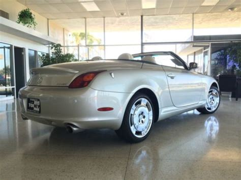 lexus convertible 4 door sell used 2002 lexus sc430 base convertible 2 door 4 3l in