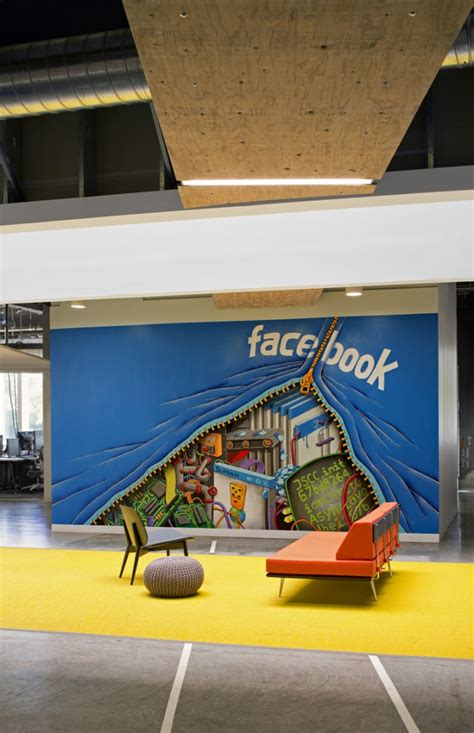 facebook office interior facebook s menlo park cus interiors