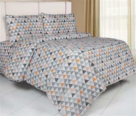 Sprei Polos Orange 200x200x40 Cm sprei panca triangle orange warungsprei