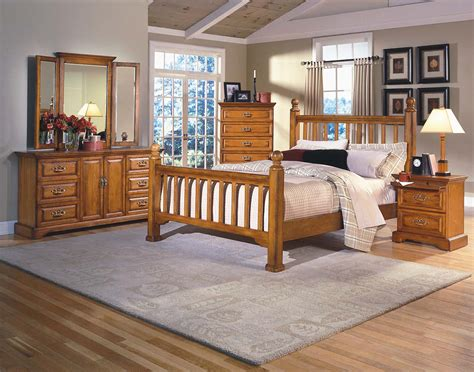 honey oak bedroom furniture honey creek new classic furniture