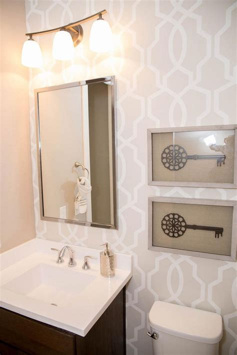 wallpaper for small bathrooms 17 best ideas about neutral wallpaper on pinterest