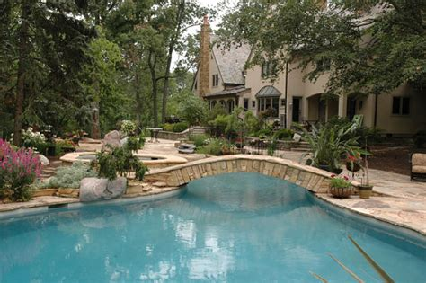 project spotlight backyard retreat with lagoon style pool