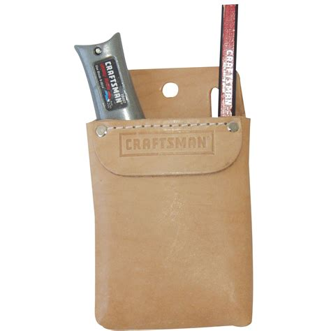craftsman leather tool pocket tools tool storage