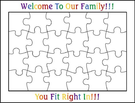 best photos of 24 piece puzzle template blank jigsaw