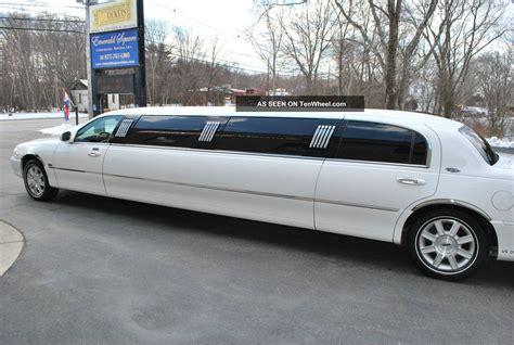 town car limousine 2008 lincoln town car royale limousine