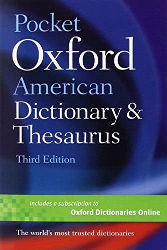 oxford american dictionary promo 231 cheapest copy of pocket oxford american dictionary thesaurus by oxford university press