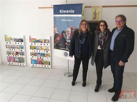 librerie pescara il kiwanis chieti pescara dona alla scuola dell infanzia
