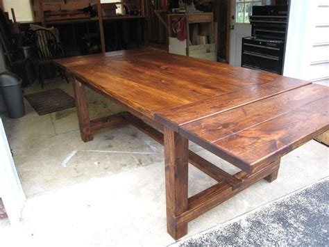 restoration hardware farmhouse table how to make a diy farmhouse dining room table restoration