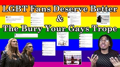 lgbt fans deserve better lgbt fans deserve better