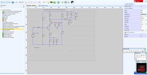 electronic circuit design software linux circuit and