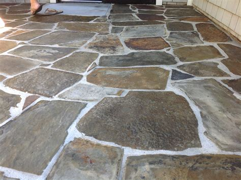 Slate Pavers For Patio Slate Tile Driving You California Tile Restoration