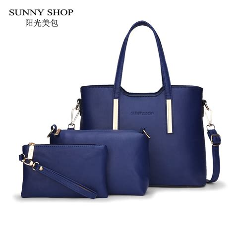 Fashion Embossed Shopper Bag Set 3 In 1 3352 shop 3 bags set luxury handbags bags designer american style bag purses and