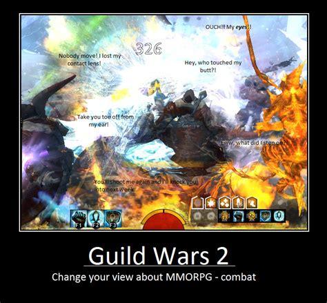 Guild Wars 2 Meme - guild wars 2 combat motivational by junkienen on deviantart