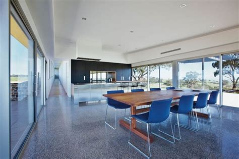 polished concrete grand designs australia series  episode  barossa valley glass house
