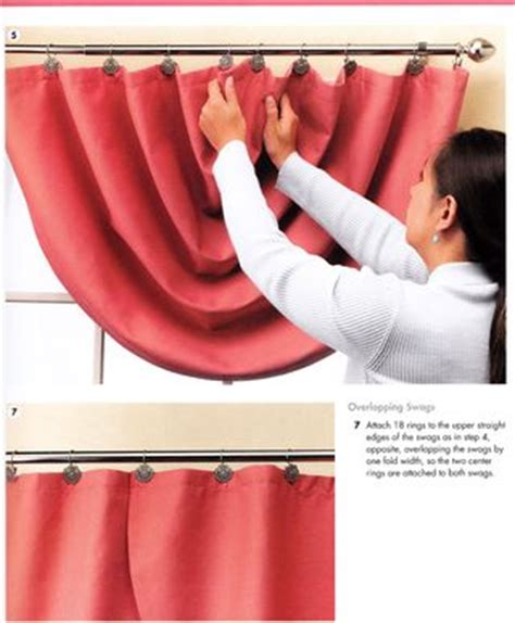 how to make a swag curtain how to make swag curtain panels from the book the complete