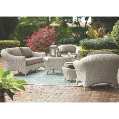 martha stewart lake adela patio furniture martha stewart living lake adela bone 6 patio