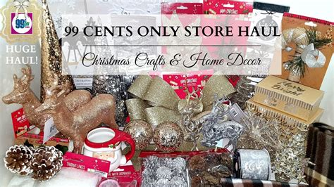 99 cent store christmas lights huge 99 cents only store haul christmas craft supplies
