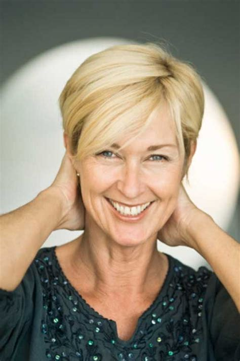 short hair with bangs for mature women nice short straight hairstyles with bangs short