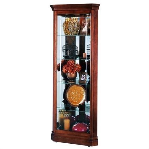 howard miller corner curio cabinet howard miller lynwood corner display curio cabinet 680345