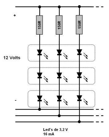 resistor led positivo ou negativo resolvido duvida sobre como ligar fita de led eletr 244 nica clube do hardware
