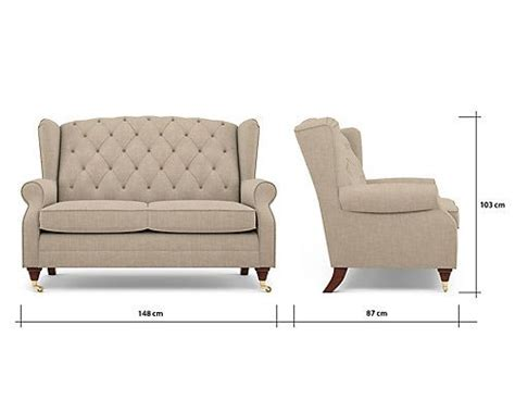Small Depth Sofas by Highland Button Compact Sofa M S Narrow Depth Sofa In