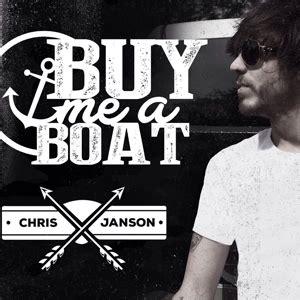 chris janson finds sales success outside label radio - Chris Janson Buy Me A Boat Song