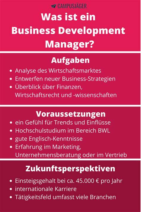business development manager description was macht ein business development manager cusj 228 ger