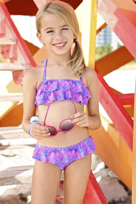 little cuties 12 year old models peixoto kids poppy kids zig zag bikini