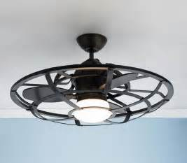 ceiling awesome ceiling fan with cage light wire cage