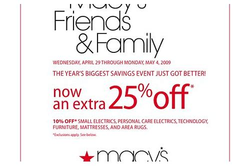macy's in store coupon
