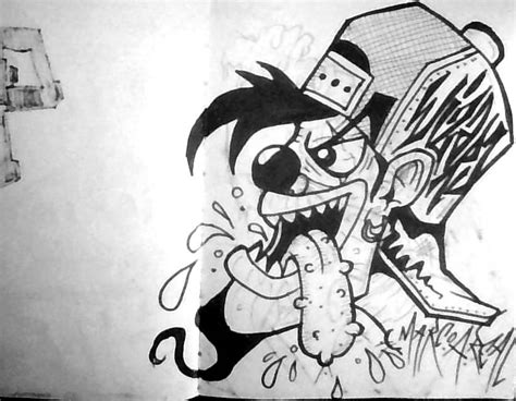 graffiti clown character  wizardlabels  deviantart