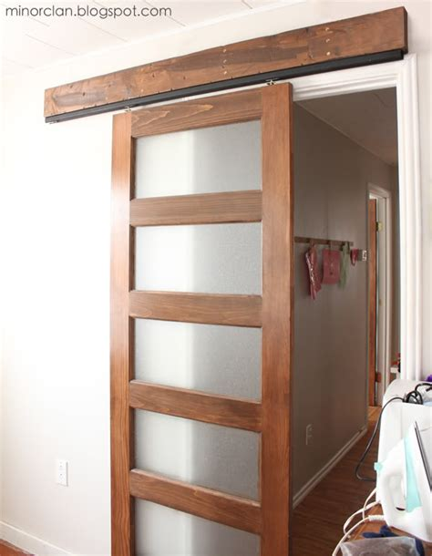 Sliding Barn Door Installation Remodelaholic 35 Diy Barn Doors Rolling Door Hardware Ideas