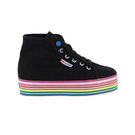 superga siyah kadin ayakkabisi scb
