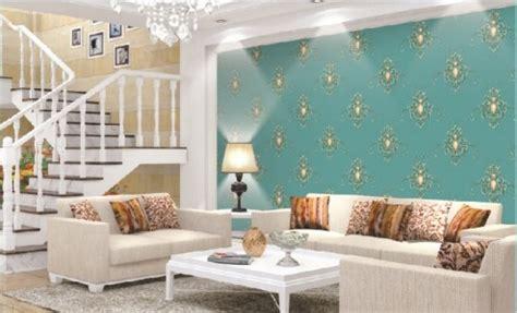 Karpet Ruangan Permadani Moderen Klasik Minimalis Karpet Lantai Murah 1 10 contoh wallpaper dinding ruang tamu elegan nirwana