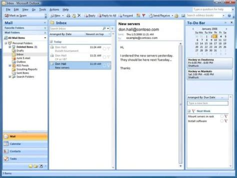 microsoft outlook 2007 developing interfaces in outlook 2007