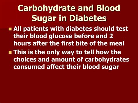 carbohydrates diabetes ppt carbohydrate counting for patients with diabetes