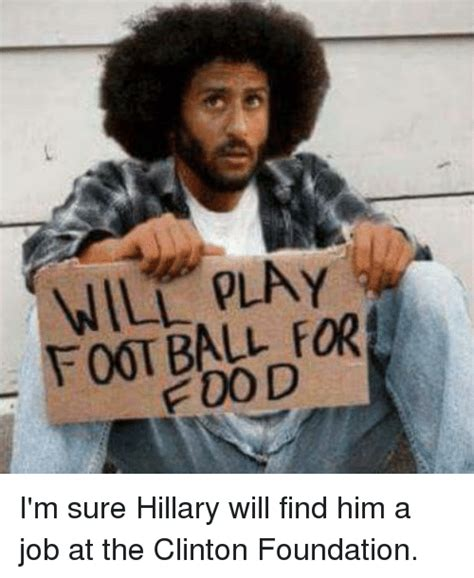 I M Meme I M Cover Foundation foot for i m sure will find him a at the clinton foundation meme on sizzle