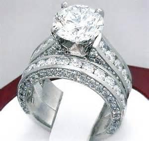 wedding rings 3 carats 3 2 carat engagement ring mount wedding band