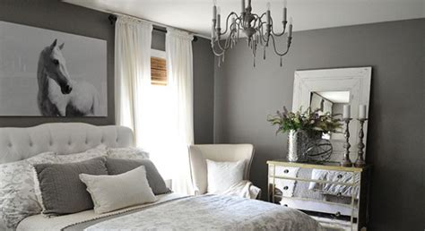 home goods bedroom how to go glamorous with gray in your guest bedroom