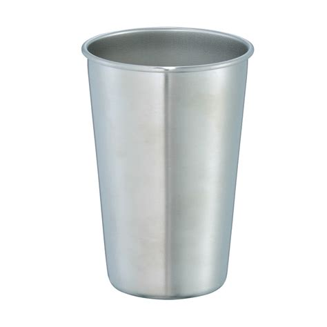 stainless steel pint stainless steel pint glass 16 oz express impressions inc